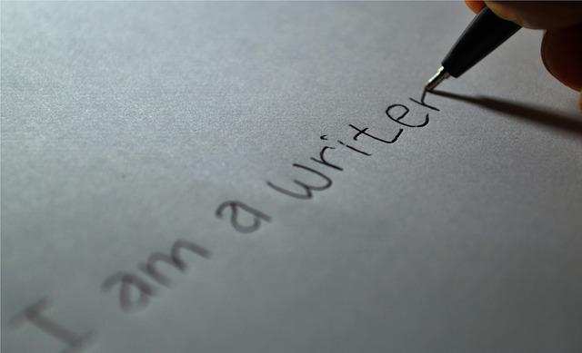 I am a writer pic